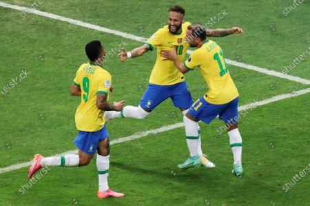 Editorial photo of Brazil vs Venezuela, Brasilia - 13 Jun 2021