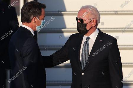 President Joe Biden arrives in Belgium ahead of NATO summit, Brussels