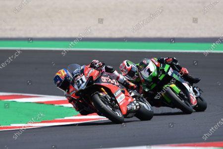 Editorial photo of SBK FIM Superbike World Championship 2021, Race 2, Misano Adriatico, Italy- 13 Jun 2021