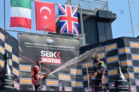 Editorial picture of SBK FIM Superbike World Championship 2021, Race 2, Misano Adriatico, Italy- 13 Jun 2021