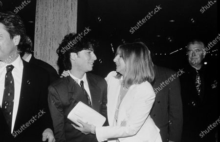 UNITED STATES - OCTOBER 01:  Barbara Streisand and Jason Gould