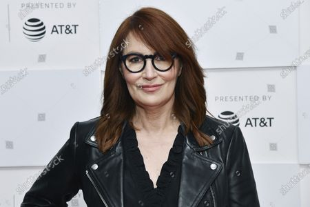 """Margaret Nagle attends the premiere of """"With/In"""" during the 20th Tribeca Festival at Brookfield Place, in New York"""