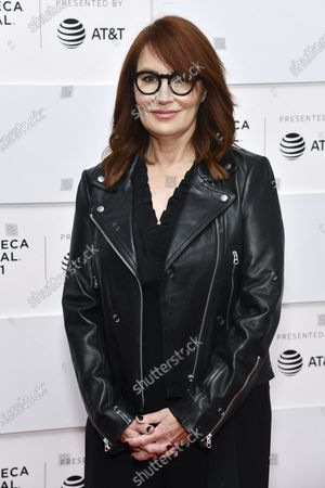 """Stock Image of Margaret Nagle attends the premiere of """"With/In"""" during the 20th Tribeca Festival at Brookfield Place, in New York"""