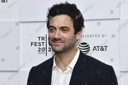 """Morgan Spector attends the premiere of """"With/In"""" during the 20th Tribeca Festival at Brookfield Place, in New York"""