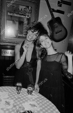 UNITED STATES - MAY 01:  MTV VJs Martha Quinn and Downtown Julie Brown
