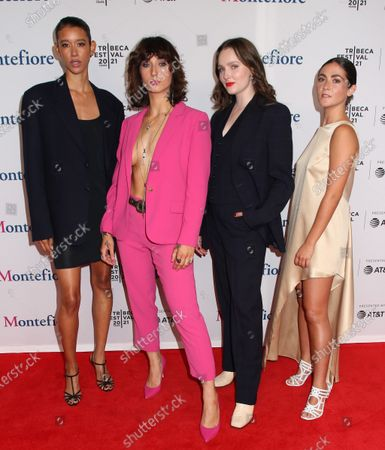 Editorial image of 'The Novice' premiere, Arrivals, Tribeca Film Festival, New York, USA - 13 Jun 2021