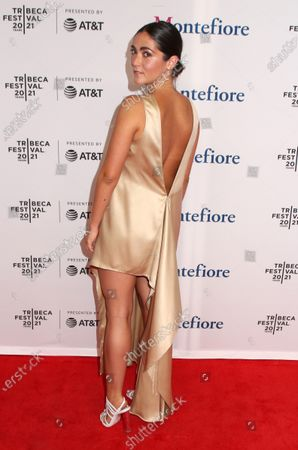 Editorial picture of 'The Novice' premiere, Arrivals, Tribeca Film Festival, New York, USA - 13 Jun 2021