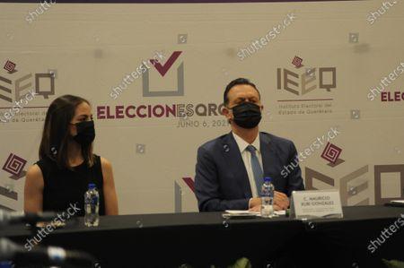 Editorial image of Mauricio Kuri Is Declared As New Governor Of Queretaro, Mexico - 13 Jun 2021