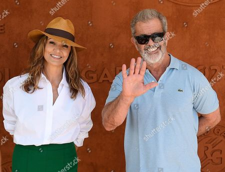 Mel Gibson and Nadia Fares