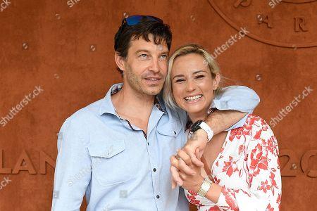Editorial picture of French Open Tennis, Day Fourteen, Celebrities, Roland Garros, Paris, France - 12 Jun 2021