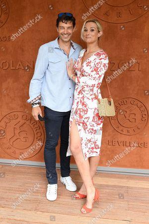 Elodie Gossuin and her husband Bertrand Lacherie