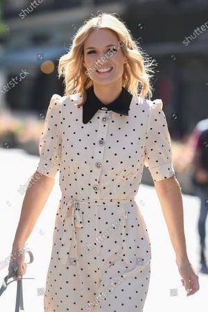 Charlotte Hawkins out and about, London