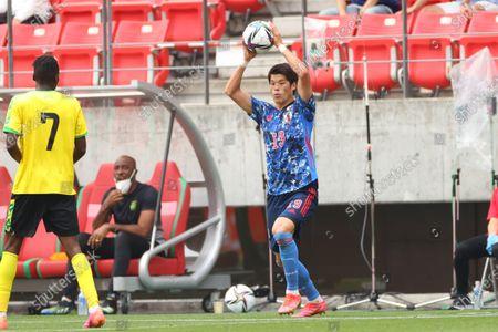 Hiroki Sakai (JPN) - Football / Soccer :  International Friendly Match  between U-24 Japan 4-0 Jamaica  at Toyata Stadium, Aichi, Japan.