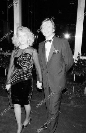 UNITED STATES - DECEMBER 01:  Michael York and Patricia McCallum