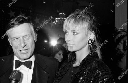 Stock Image of UNITED STATES - MARCH 01:  Hugh Hefner and Kimberly Conrad