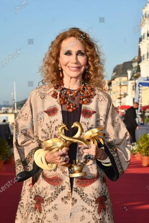 Editorial image of 35th Cabourg Film Festival, Arrivals, Cabourg, France - 12 Jun 2021
