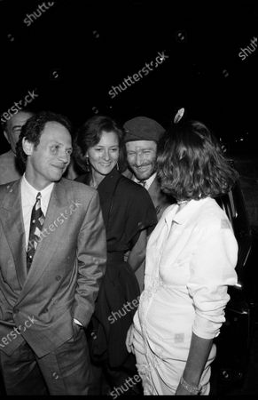 UNITED STATES - SEPTEMBER 01:  Billy Crystal and Janice Goldfinger