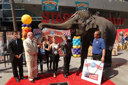 Editorial picture of Iconic Circus Founder P.T. Barnum Star Dedication Ceremony at STAPLES Center's Plaza, Los Angeles, America - 15 Jul 2010