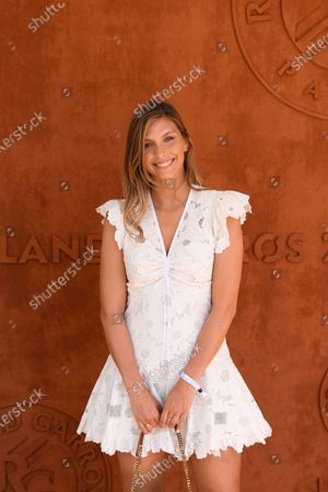 Stock Photo of Camille Cerf sighted at the VIP Village of Roland Garros