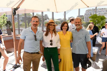 Editorial image of French Open Tennis, Day Fifteen, Roland Garros, Celebrities at the Village Paris, France - 13 Jun 2021