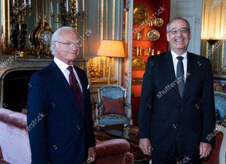 Swiss President Guy Parmelin visit to Stockholm