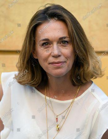 Milena Mancini poses during a photocall for the movie 'Il Giorno e la Notte' in Rome, Italy, 14 June 2021.