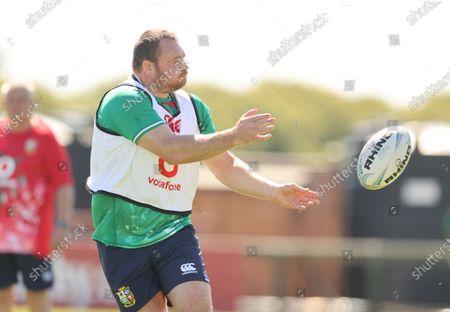 British & Irish Lions Squad Training, Jersey, United Kingdom 14/6/2021. Ken Owens