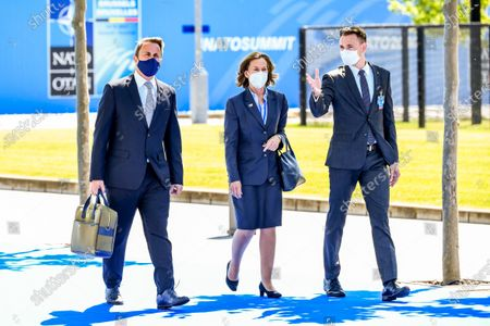 Stock Photo of Luxembourg - Prime Minister Xavier Bettel during NATO SUMMIT 2021 in Brussels, Belgium.