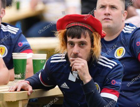 Scotland fans watch UEFA EURO 2020 Group D match v  Czech Rep