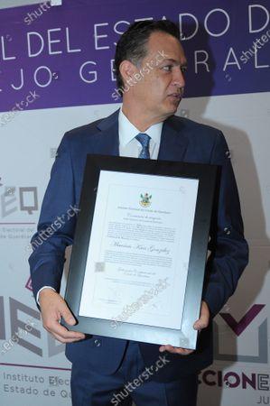 Editorial picture of Mauricio Kuri is declared as New Governor of Queretaro, Mexico - 13 Jun 2021