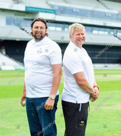 Editorial photo of Vertu Motors Steve Harmison & Matthew Hoggard Bowling Masterclass. Leeds, UK - 14 Jun 2021