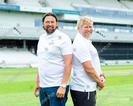 Editorial image of Vertu Motors Steve Harmison & Matthew Hoggard Bowling Masterclass. Leeds, UK - 14 Jun 2021