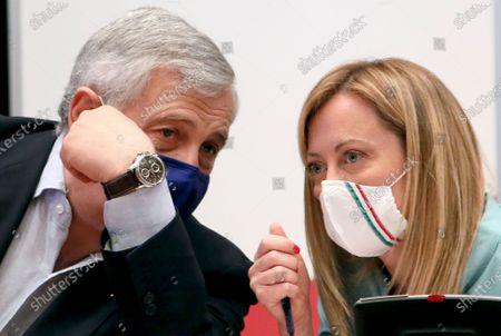 Antonio Tajani, Giorgia Meloni