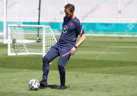 Stock Photo of England manager Gareth Southgate