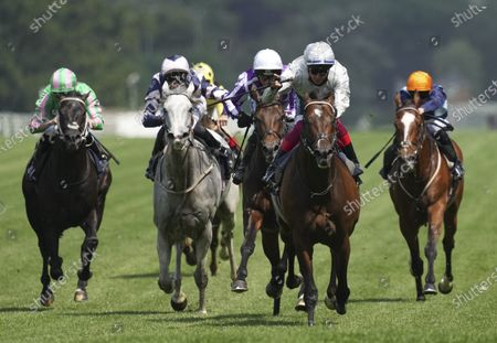 Frankie Dettori rides Palace Pier to victory during The Queen Anne Stakes (Group 1) on Day 1 of Royal Ascot
