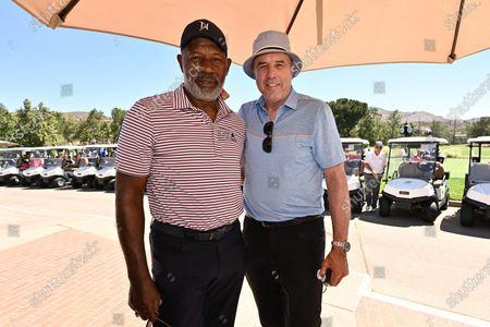 Dennis Haysbert and Kevin Nealon