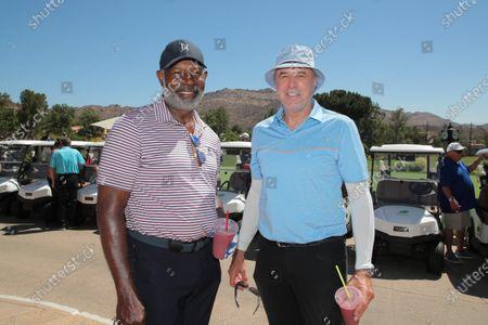 Kevin Nealon and Dennis Haysbert