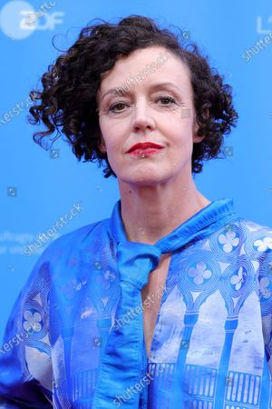 Maria Schrader attends the European Shooting Stars Awards and 'Ich bin dein Mensch' (I'm Your Man) premiere during the 71st Berlinale International Film Festival Summer Special at Freiluftkino Museumsinsel in Berlin, Germany, 15 June 2021. Due to the coronavirus COVID-19 pandemic, the 71st Berlinale is taking place in two stages: a virtual Industry Event, that was held from 01 to 05 March 2021, and the Summer Special for the general public running from 09 to 20 June 2021 as an outdoor-only event.