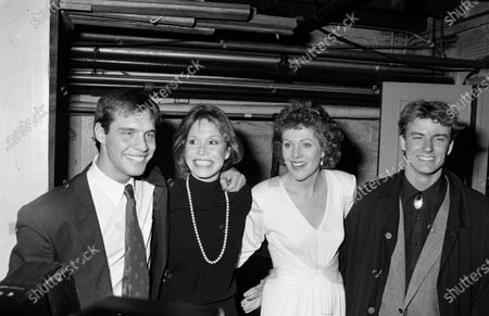 UNITED STATES - JANUARY 01:  Barry Tubb, Mary Tyler Moore, Lynn Redgrave and John Linton
