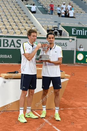 Pierre-Hugues Herbert and Nicolas Mahut (FRA)