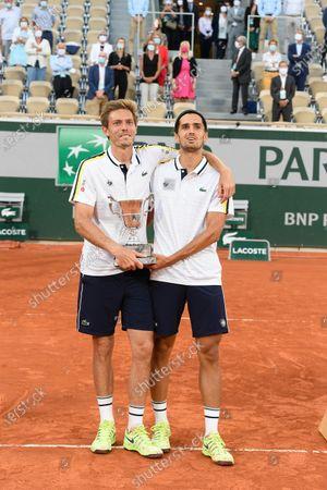 Editorial photo of French Open Tennis, Day Fourteen, Roland Garros, Paris, France - 12 Jun 2021