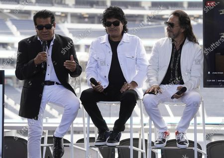 Editorial picture of Los Bukis Media Event, Los Angeles, United States - 14 Jun 2021