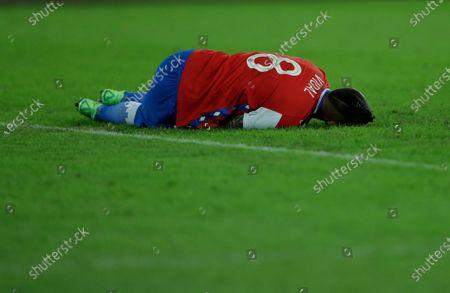 Editorial photo of Argentina Chile Copa America Soccer, Rio De Janeiro, Brazil - 14 Jun 2021