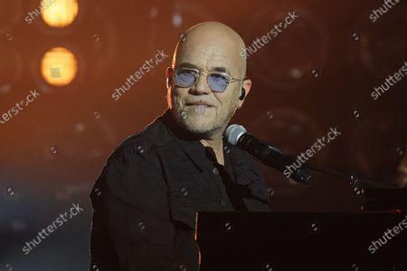 Stock Photo of Pascal Obispo in concert