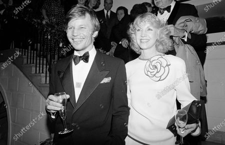 UNITED STATES - NOVEMBER 01:  Michael York and wife, Patricia McCallum