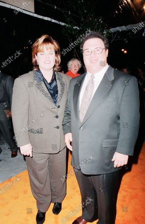 UNITED STATES - JANUARY 01:  Rosie O'Donnell and Josh Mostel