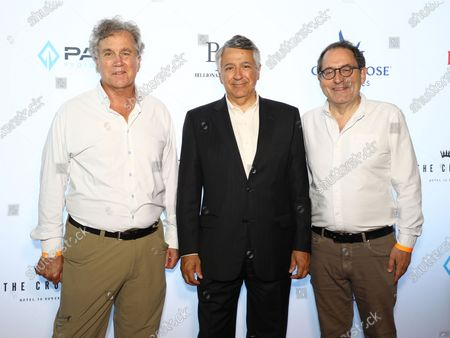Tom Bernard, Tony Vinciquerra, Michael Barker