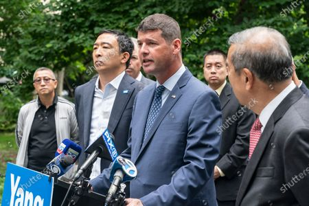 Editorial photo of Mayoral candidate Andrew Yang received endorsement by CEA and AAPEX, New York, United States - 14 Jun 2021