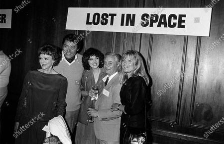 UNITED STATES - MARCH 01:  June Lockhart, Guy Williams, Angela Cartwright, Bob May and Marta Kristen