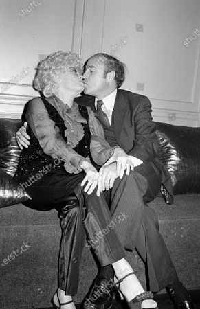 UNITED STATES - OCTOBER 30:  Phyllis Diller and Dr. Donald Levy